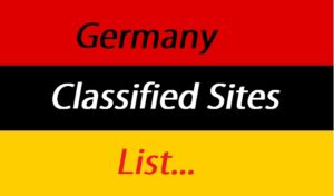 Germany Classifieds Sites List