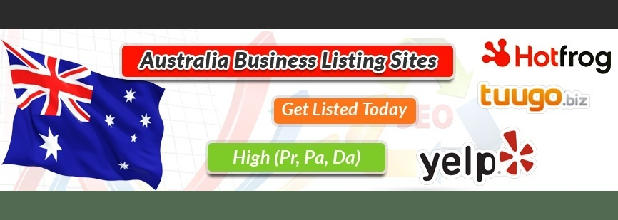 List of High DA Australia Business Listing Sites