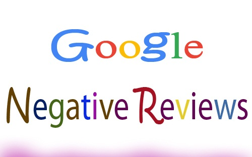 google negative reviews