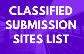 Classifieds Submission Sites