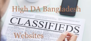 List of Popular Classifieds Sites for Bangladesh