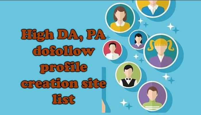 High Authority Dofollow Profile Creation Sites List 2019 - 4 SEO Help