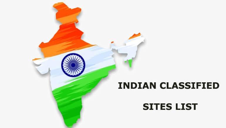 Top & High DA/PR Indian Classified Sites List 2019-2020 - 4