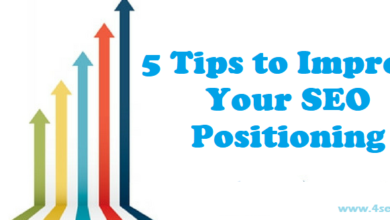 web positioning tips